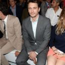 James Franco at the Gucci show during Milan Menswear Fashion Week Spring Summer 2014 (June 24)