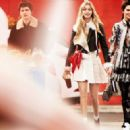 Kendall Jenner, Gigi Hadid, Justin Bieber, Ansel Elgort, Dylan Penn, Hopper Penn - Vogue Magazine Pictorial [United States] (April 2015) - 454 x 323