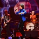 The Rolling Stones performs with Dave Grohl at The Honda Center on May 15, 2013 in Anaheim, CA