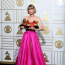 Taylor Swift At The 58th Annual Grammy Awards 2016 - Press Room