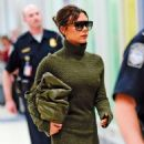 Victoria Beckham at JFK Airport in NYC - 454 x 544