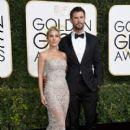 Chris Hemsworth and Elsa Pataky- 74th Annual Golden Globe Awards