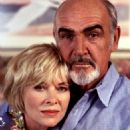 Kate Capshaw and Sean Connery