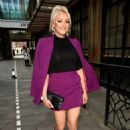 Katie McGlynn – Heads out celebrating her birthday at BLVD in Manchester - 454 x 645