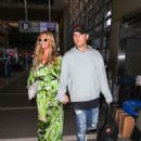 Paris Hilton and Chris Zylka are seen at LAX.NON EXCLUSIVE June 08, 2018 - 450 x 600