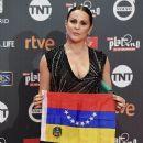 Malena González- Platino Awards 2017- Red Carpet - 388 x 600