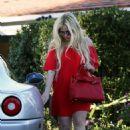 Avril Lavigne in Red out in LA - 454 x 665