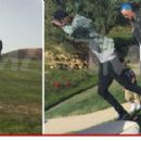 Amber Rose, Wiz Khalifa, and Sebastian attend Tamar Braxton's Easter Party in Calabasas, California - April 5, 2015