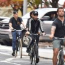 Katy Perry Riding Her Bike In New York