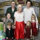 Tori Spelling and her family attending at various events through the years - 454 x 556