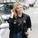 Chloe Moretz – Leaves an office building in West Hollywood