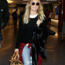 Ashley Tisdale At Lax Airport In Los Angeles