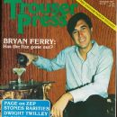 Bryan Ferry - Trouser Press Magazine Cover [United States] (November 1977)