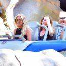 Ashley Benson at Disneyland in Anaheim