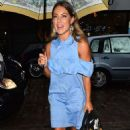 Louise Thompson – Nespresso Launch Party in London - 454 x 710