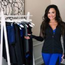 Demi Lovato – Promoting her new Fabletics line in New York