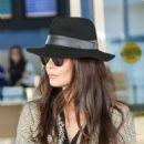 Catherine Zeta-Jones – Arriving at JFK Airport in New York - 454 x 568