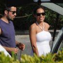 Rosario Dawson And Mathieu Schreyer In Ischia