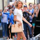 Taylor Swift In White Out In Nyc