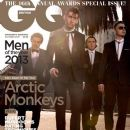 Alex Turner, Jamie Robert Cook, Nick O'malley, Matt Helders - GQ Magazine Cover [United Kingdom] (2 October 2013)