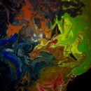 Paintings by Lorelei Linklater - 454 x 370