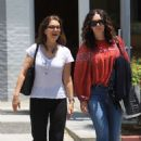 Sela Ward – Shopping in Beverly Hills