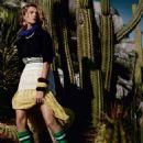 Daria Werbowy Vogue Uk Magazine March 2014