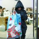 Blac Chyna was seen out for a trip to the nail salon in Los Angeles, California on December 26, 2016