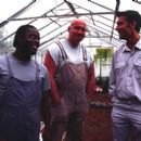 Paterson Joseph, Adam Fogerty and Clive Owen in IDP's Greenfingers - 2001