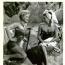 Denise Darcel with Esther Williams in Dangerous When Wet