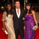 Simon Cowell and Sinitta Cowell