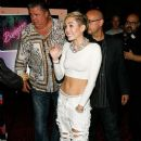 Miley Cyrus attends her 'Bangerz' Record Release Signing at Planet Hollywood Times Square on October 8, 2013 in New York City