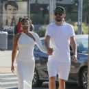 Melanie Brown with new boyfriend out in Beverly Hills