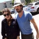 Nikki Reed and Ian Somerhalder Out in Los Angeles - 454 x 572
