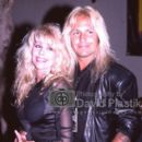 Sharise and Vince Neil - 391 x 595