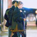 Taylor Swift – Leaving recording studio in NYC