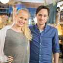Carly Schroeder and Jake Thomas