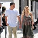 Ryan Lochte seen leaving a lunch outing in West Hollywood, California on March 24, 2017