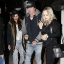 Tommy Lee and Sofia Toufa are spotted out for dinner at Gracias Madre in West Hollywood, California on December 2, 2015. - 431 x 600