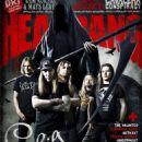 Jaska Raatikainen, Alexi Laiho, Janne Wirman, Henkka Seppälä, Roope Latvala - Headbang Magazine Cover [Turkey] (April 2011)