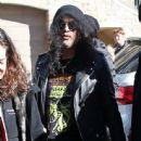 Slash spotted out and about at the 2015 Sundance Film Festival in Park City, Utah on January 25, 2015
