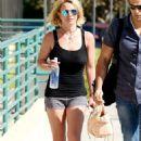 Britney Spears Leaving The Gym In Westlake Village