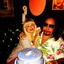 Ace Frehley and Rachael Gordon