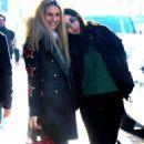 Michelle Hunziker and Aurora Ramazzotti – Out in Milan - 454 x 777