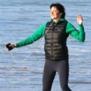 Shailene Woodley – Dances on the set of 'Big Little Lies' in Sausalito