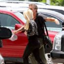 Britney Spears (with Jason Trawick) out for 'X-Factor' in Miami (July 24)