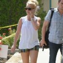 Britney Spears Leaving The Gym In Westlake Village