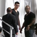 Joe Jonas was spotted leaving the Delano hotel, February 19, in Miami