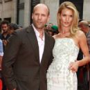 Jason Statham and Rosie Huntington-Whiteley attend the UK Premiere of 'Hummingbird' at Odeon West End on June 17, 2013 in London, England
