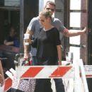 'America's Got Talent' judge Heidi Klum runs errands with her hunky, new bodyguard in New York City, New York on August 26, 2014